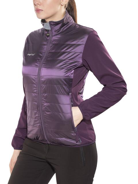 """""""Meru W's Saskatoon Hybrid Jacket Deep Purple"""""""